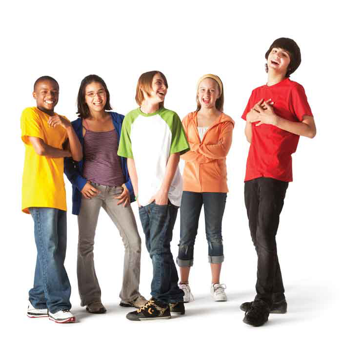 ymca-teens laughing image